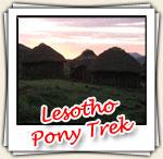 Photos du Pony Trek au Lesotho, Décembre 2006