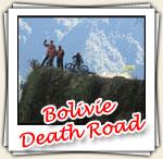 Photos de la descente de la route de la mort, Juillet 2007
