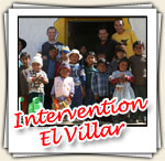 Photos de notre intervention a El Villar, Juillet 2007
