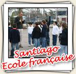 Photos de l'interventon a l'ecole francaise de Santiago, Aout 2007