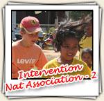 Photos de l'intervention chez Nat Association, Mars 2007