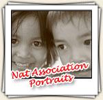 Portraits lors de l'intervention chez Nat Association, Mars 2007