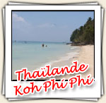 Photos de l'ile de Koh Phi Phi, Mars 2007