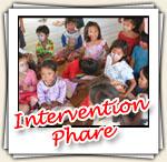 Photos de l'intervention chez Phare, Avril 2007
