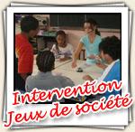Photos de l'intervention Jeux de société
